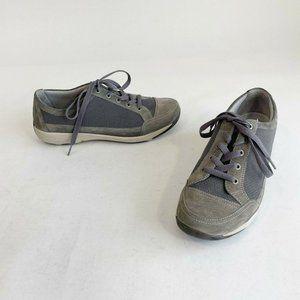 Dansko Harmony Suede Sneaker Walking Shoes Size 41
